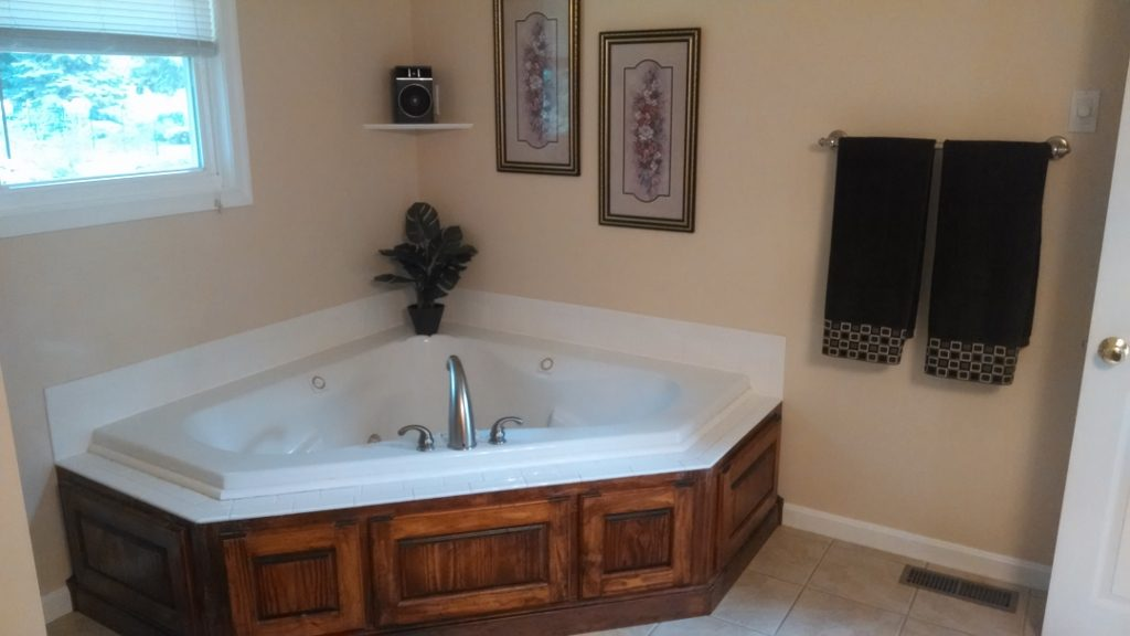 Jacuzzi Paneling (with removable panels) & Tile Surround